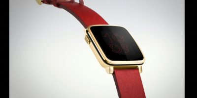 Apple Watch edition chapado en oro Foto: Apple