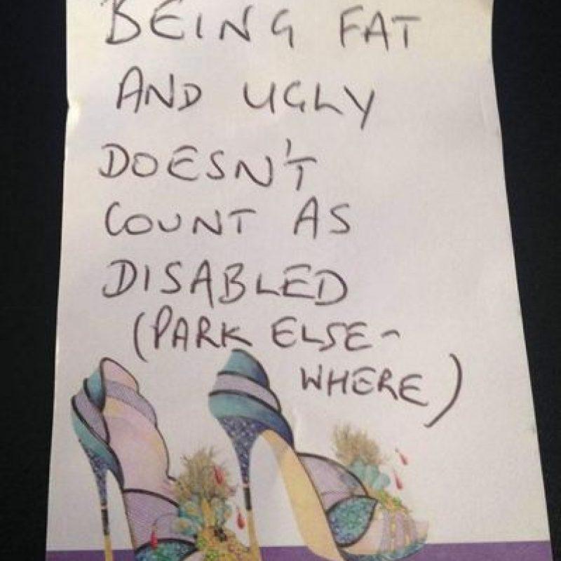 Este es el mensaje que dejaron para Sarah Metcalfe Foto:Mercury
