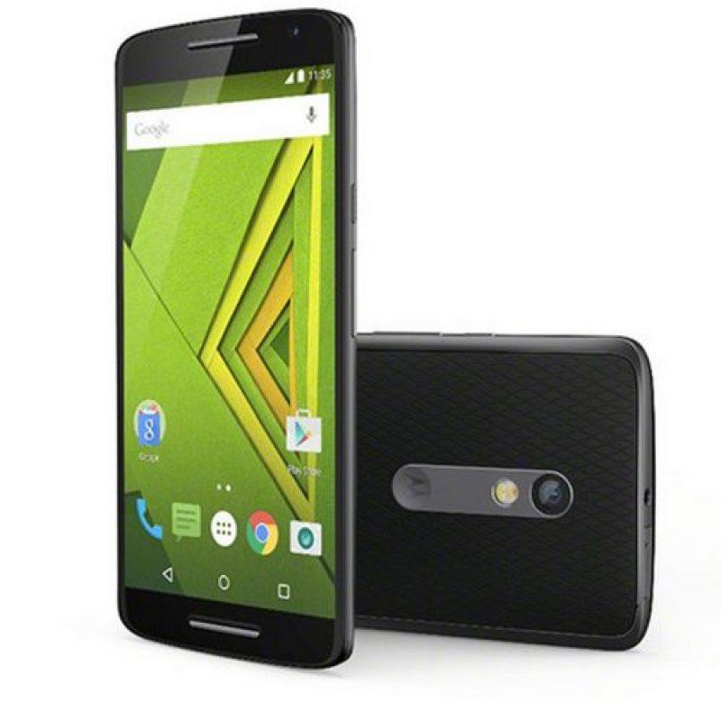Almacenamiento interno: 32 GB ampliable vía microSD Foto:Motorola