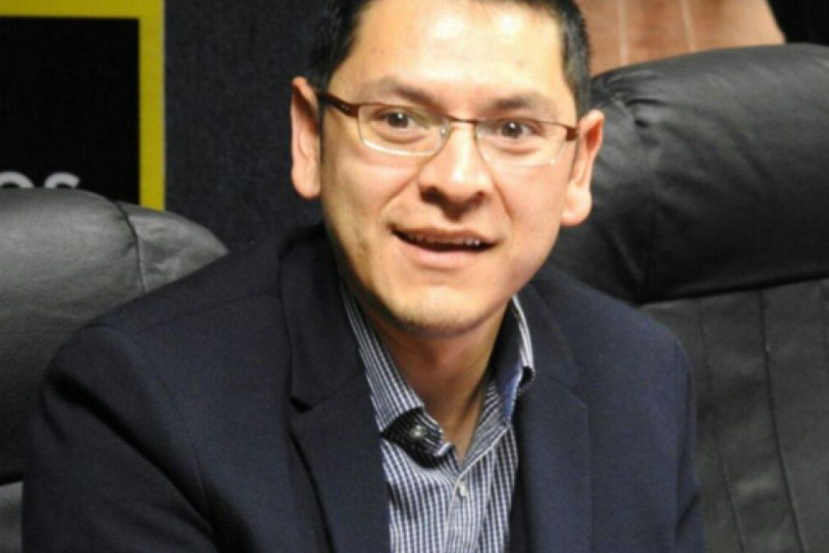 Johnny Aguilar del Departamento de Tránsito de la PNC Foto:Emisoras Unidas