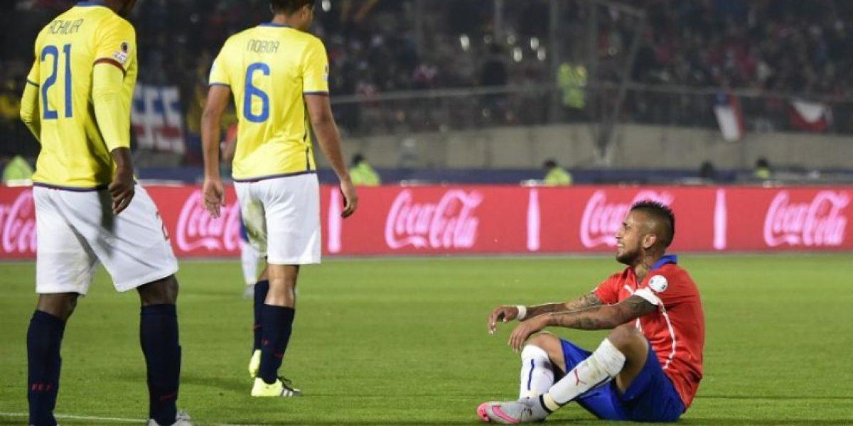 Arturo Vidal, el hombre que marcó el primer gol de la Copa América 2015