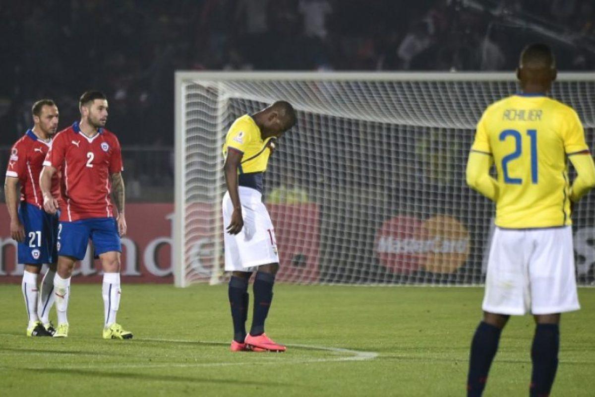 """Indicó que Chile vencería a Ecuador. Al final la """"Roja"""" se impuso 2-0 Foto:AFP"""