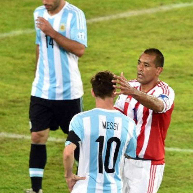 """Paraguay le empató el partido, después de que la """"Albiceleste"""" se adelantara con dos goles Foto:AFP"""