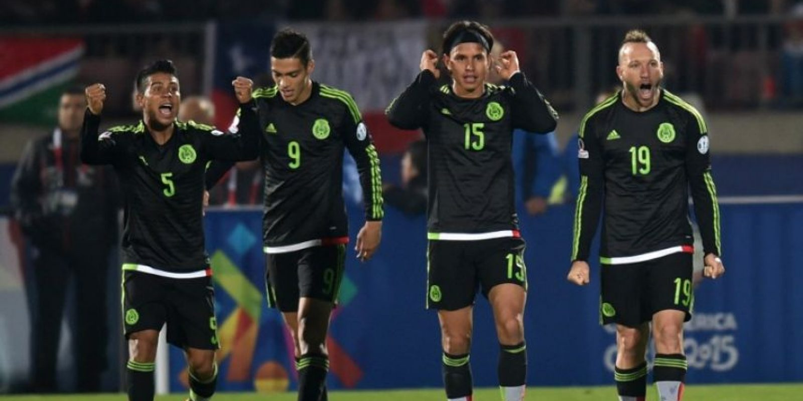 Los aztecas suman dos puntos en el torneo Foto:AFP