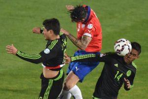 También indicó que Chile le ganaría a México Foto:AFP