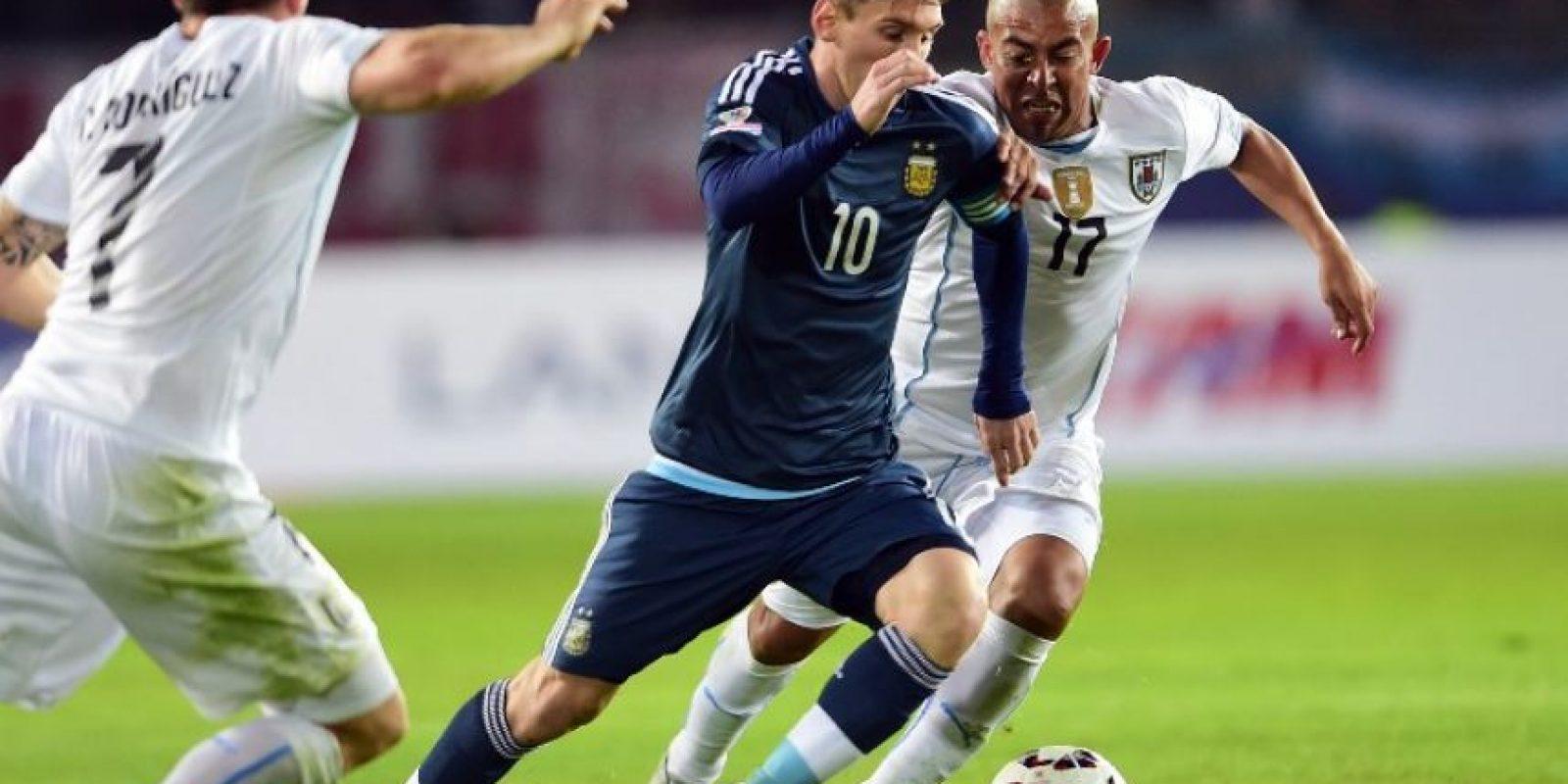 Argentina venció a Uruguay Foto:AFP