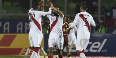 Los peruanos volvieron a la pelea por un cupo en la fase final de la Copa América. Foto:AFP