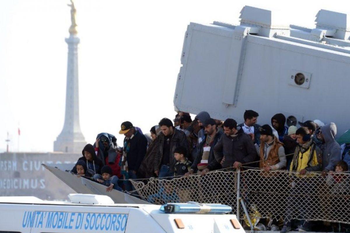 """Estos trágicos hechos han sido calificados por la Organización Internacional de Migración como: """"La peor tragedia en la historia reciente"""" Foto:AFP"""