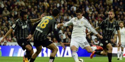 Real Madrid gana 3-1 al Málaga