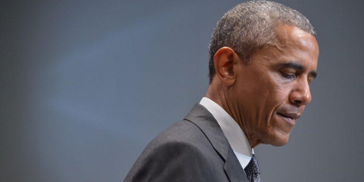 Barack Obama lamenta masacre en Carolina del Sur