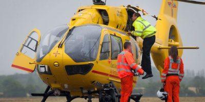 Príncipe William comenzó a trabajar como piloto de ambulancias aéreas