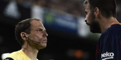 Confirman sanción a Piqué por insultar al árbitro