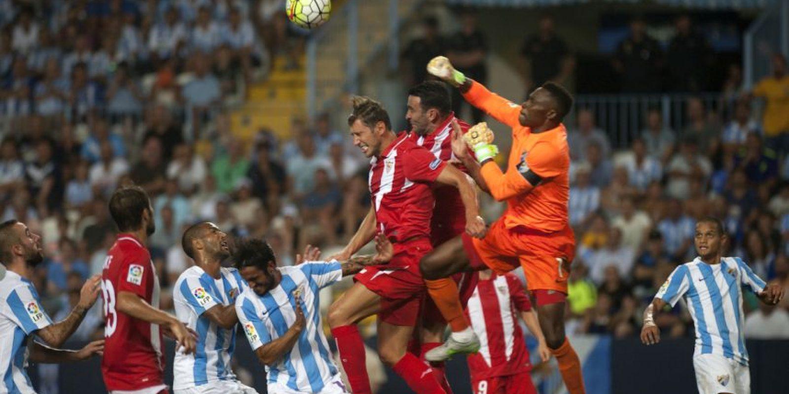Málaga 0-0 Sevilla Foto:AFP