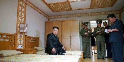 Es el Líder Supremo de Corea del Norte y Presidente de la Comisión Nacional de Defensa Foto:AFP