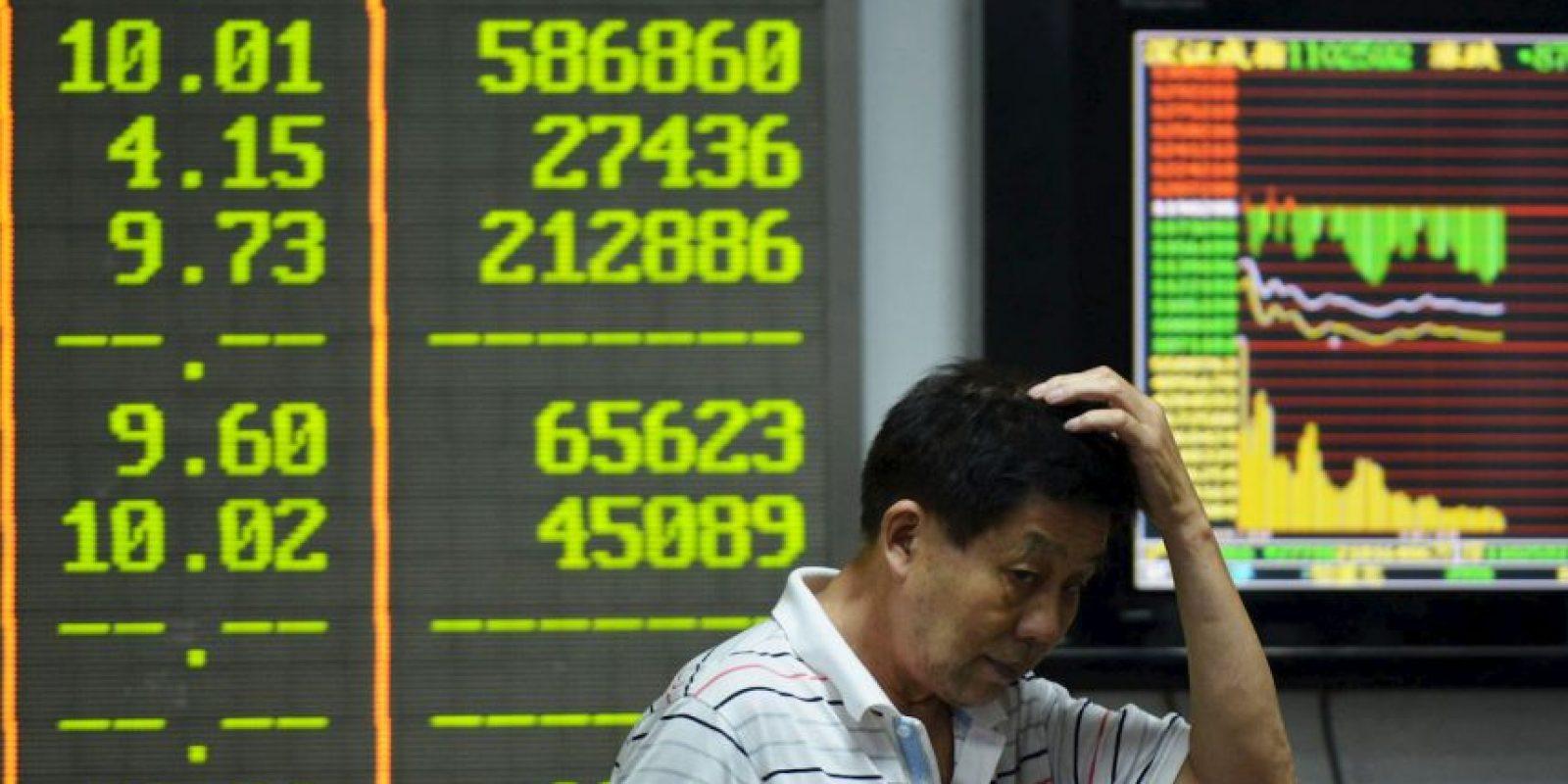 """Este """"Lunes Negro"""", las bolsas del mundo registraron caídas Foto:AFP"""
