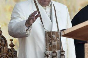6. En diversos momentos de la gira el Sumo Pontífice pidió que oraran por él. Foto:AFP