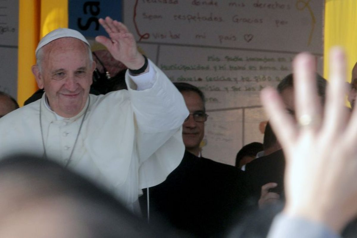 Papa Francisco. Nació el 17 de diciembre de 1936, en Buenos Aires, Argentina. Tiene 78 años. Foto:AFP