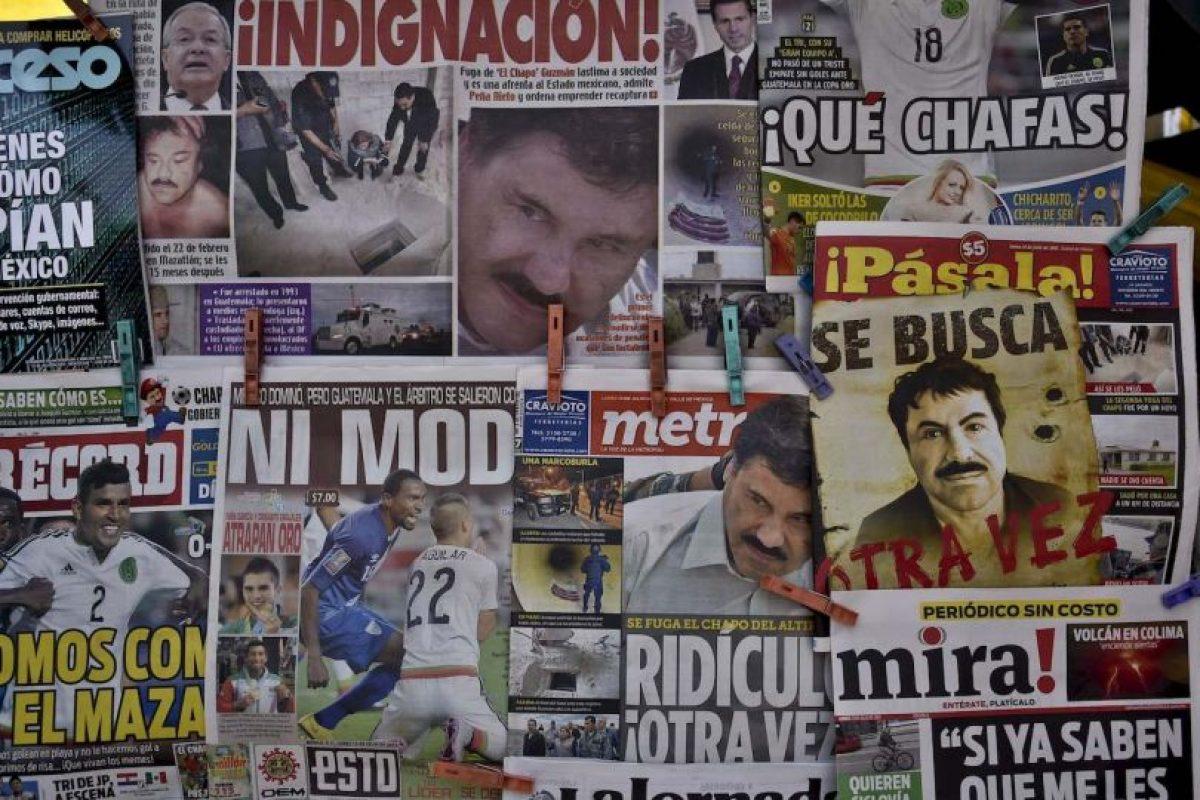 """""""Hay una sensación de impotencia, de frustración. Ya lo habían atrapado y se escapó de nuevo"""", comentó Víctor Isolino, maestro de la Universidad Panamericana de México. Foto:AFP"""