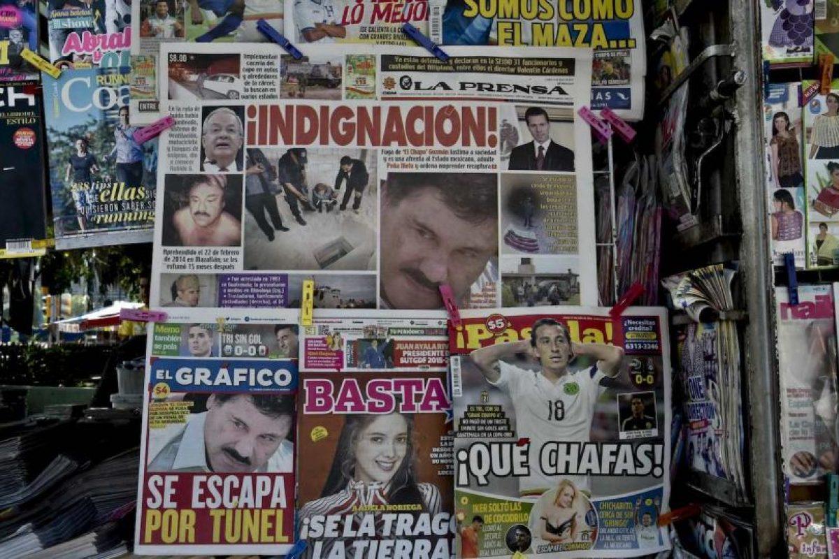 """""""La sociedad mexicana está avergonzada, basta con revisar lo que se comenta en los medios tradicionales de comunicación"""", añadió. Foto:AFP"""