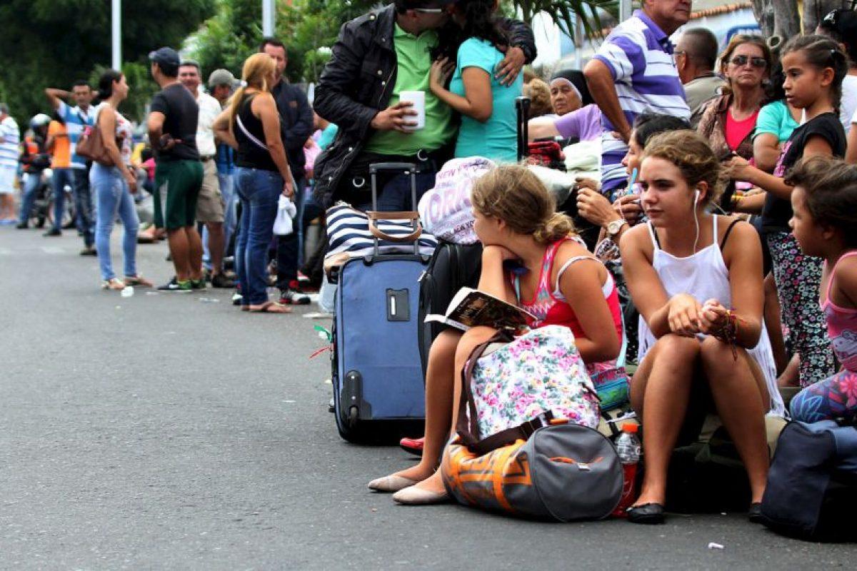 """Colombia a Venezuela: """"Exigimos que respete la integridad y derechos humanos de los ciudadanos colombianos"""" Foto:AFP"""
