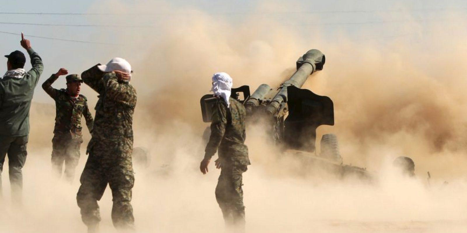 Este mes tomaron el control de la ciudad de Ramadi en Irak, y de las ruinas de la ciudad de Palmira, en Siria. Foto:AP