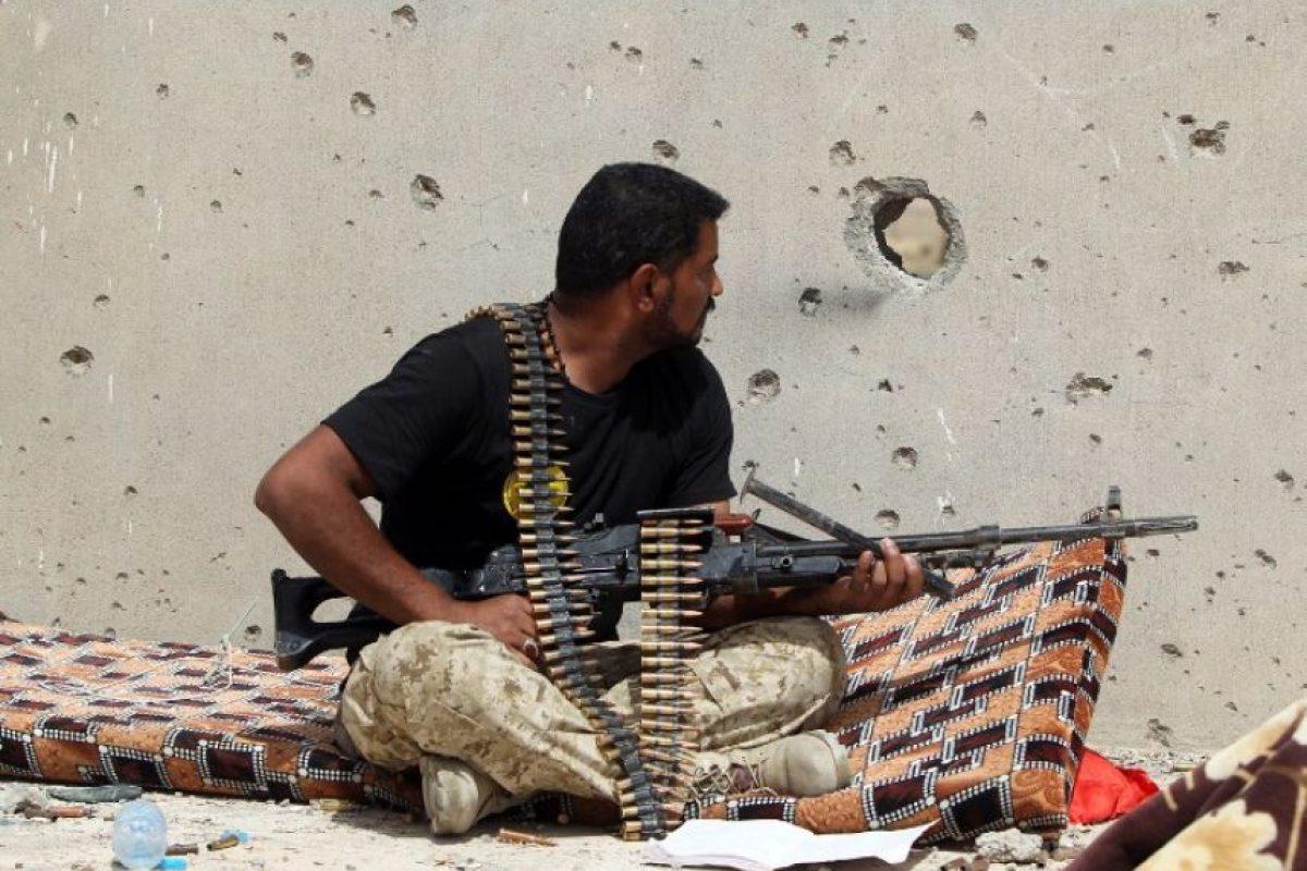Son entrenados por efectivos del ejército estadounidense Foto:AFP