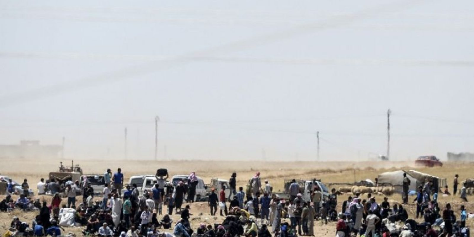 Eran originarios de la ciudad de Tel Abyad, en el norte del país Foto:AFP
