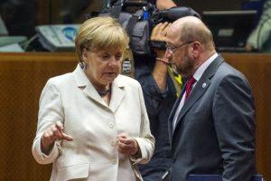 """Angela Merkel: """"Hoy habrá conversaciones muy duras. No habrá un acuerdo a cualquier precio"""" Foto:AFP"""