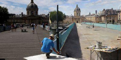 Arte callejero en Francia. Foto:AFP