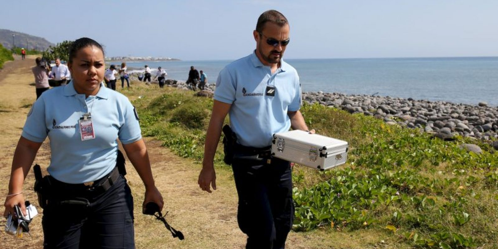 Equipo de investigación sobre el vuelo MH 370. Foto:AFP