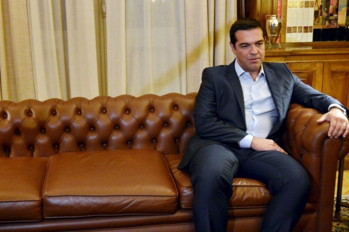 Primer ministro de Grecia Alexis Tsipras. Foto:AFP