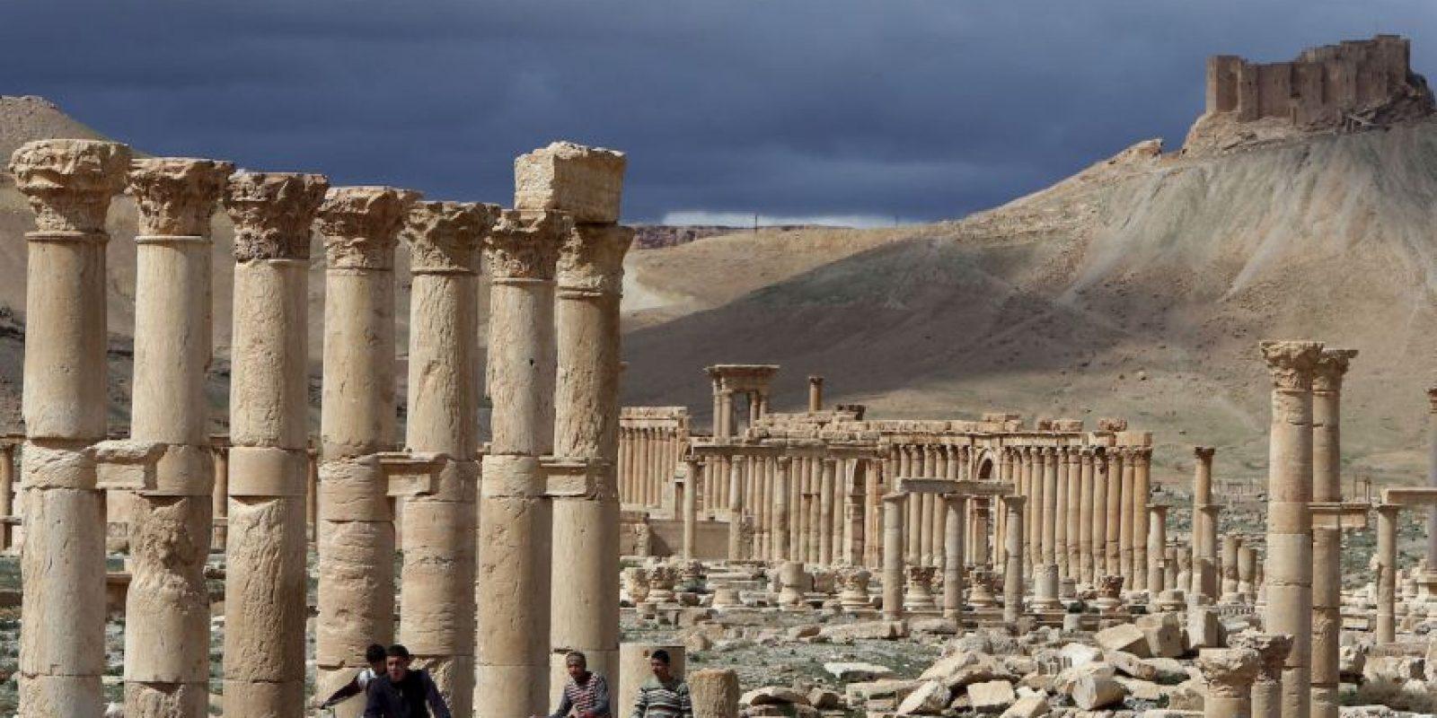 No sería la primera vez que el grupo terrorista afecta lugares históricos y de alto valor cultural. Foto:AFP
