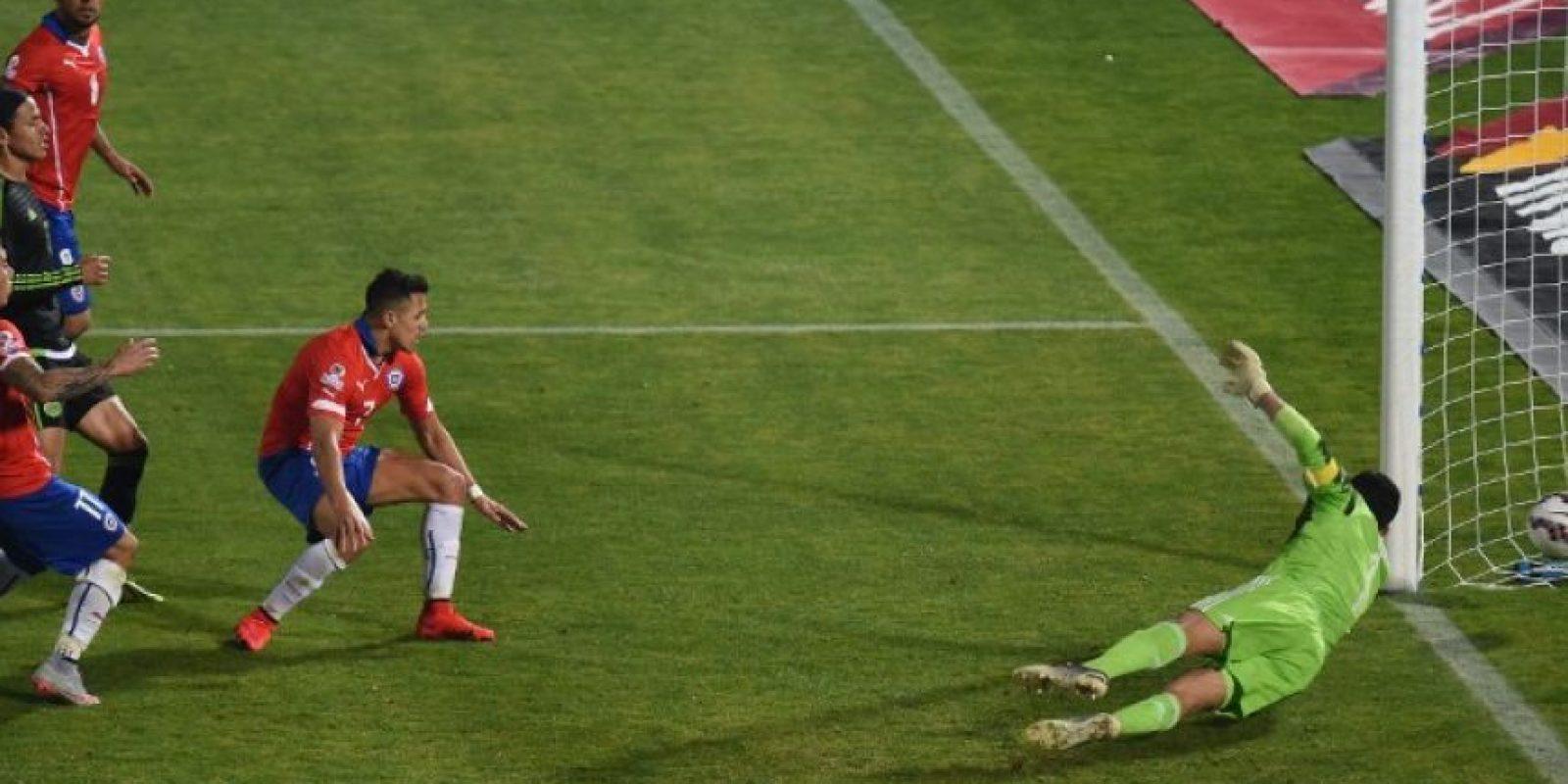 Pero igualaron 3-3 Foto:AFP