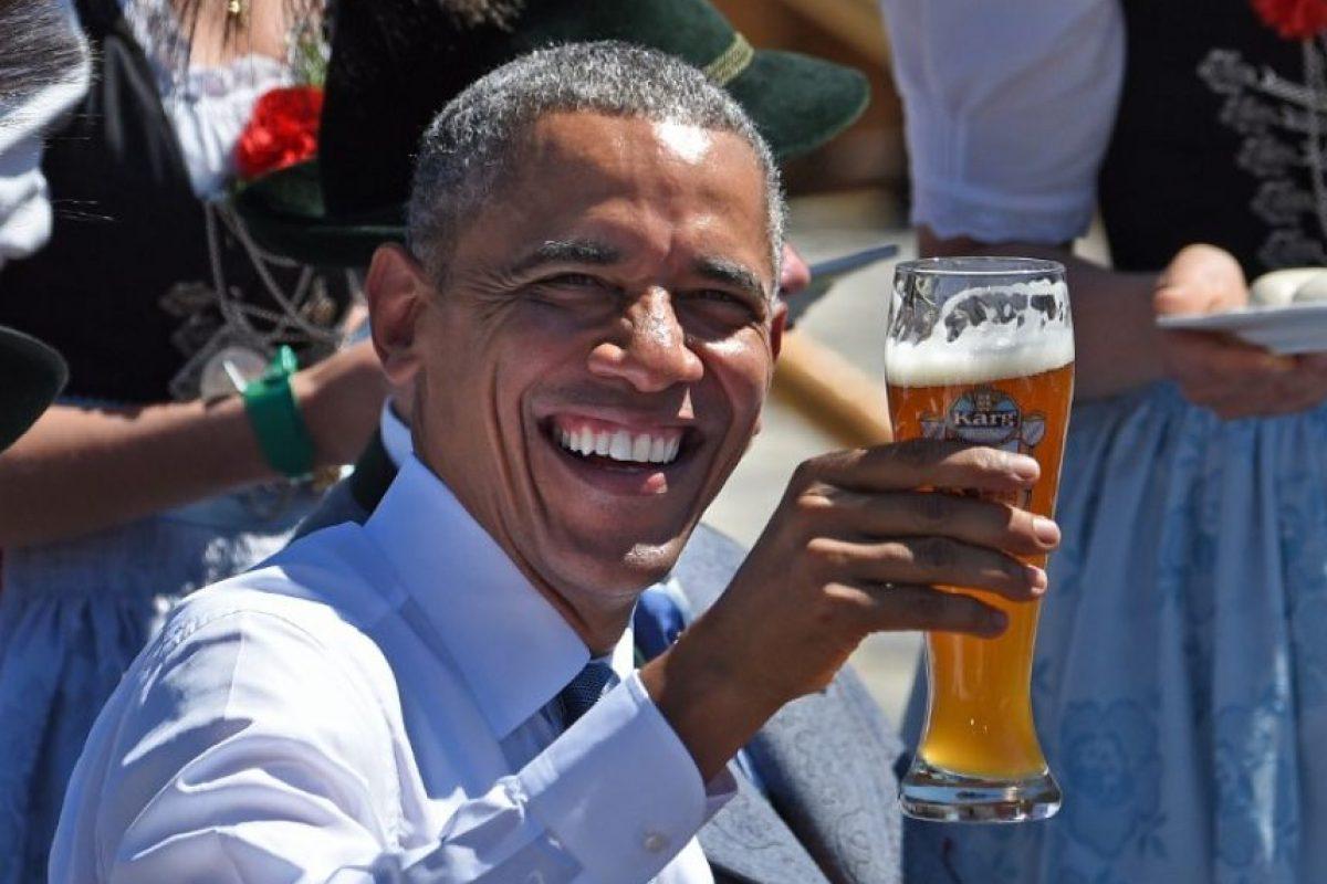 Y Barack Obama, de Estados Unidos Foto:AFP