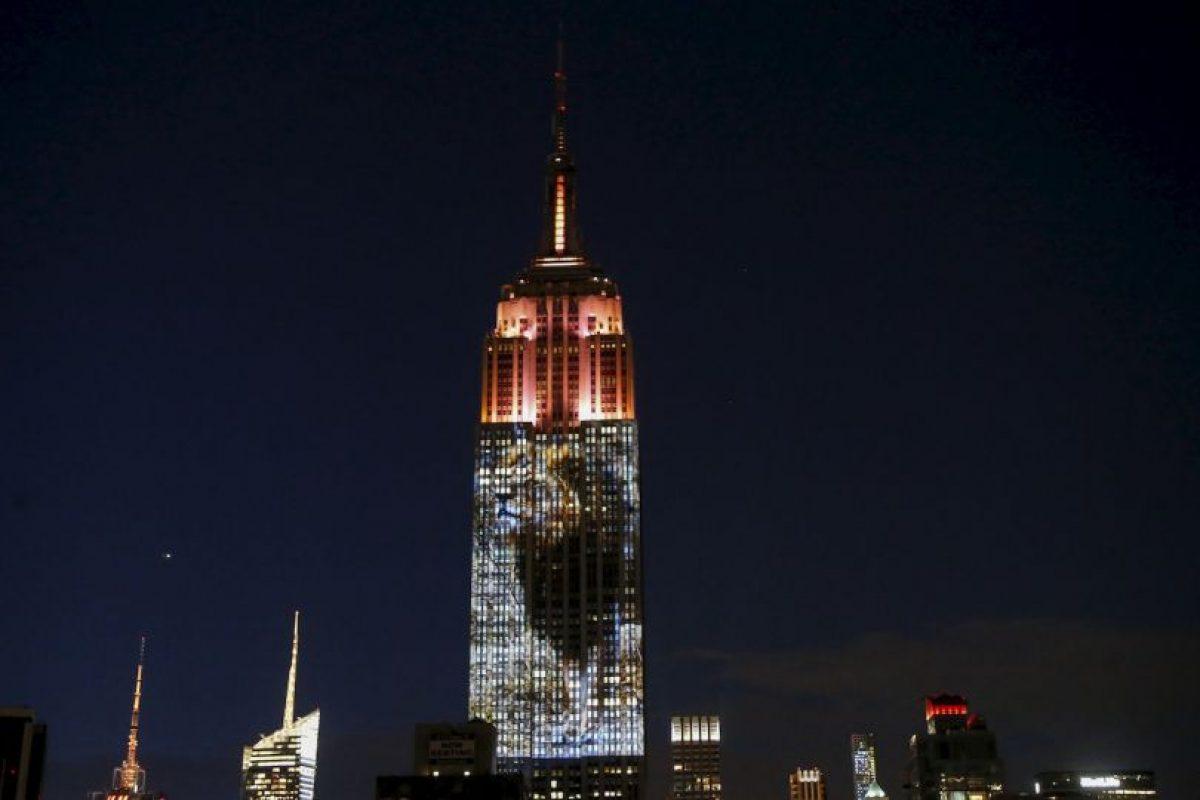 Nueva York le rinde tributo al león Cecil. Foto:AFP