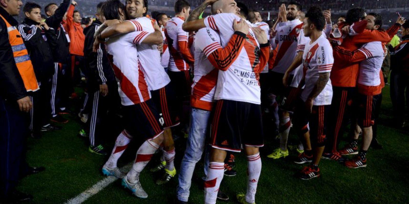 Cuatro años después de descender en el fútbol de Argentina Foto:Getty Images