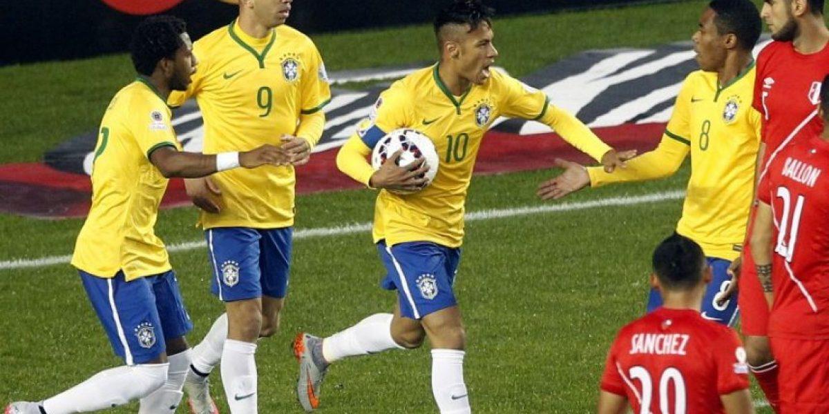#Chile2015 en el cierre, Brasil logra un agónico triunfo contra Perú
