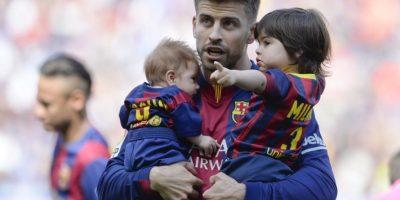 VIDEO. El hijo de Piqué y Shakira ya anota goles en el Camp Nou