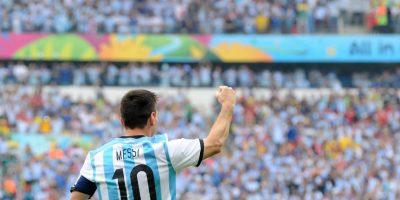 La imagen de Messi fue utilizada sin autorización por el Partido Patriota en Jacaltenango. Foto:Publinews