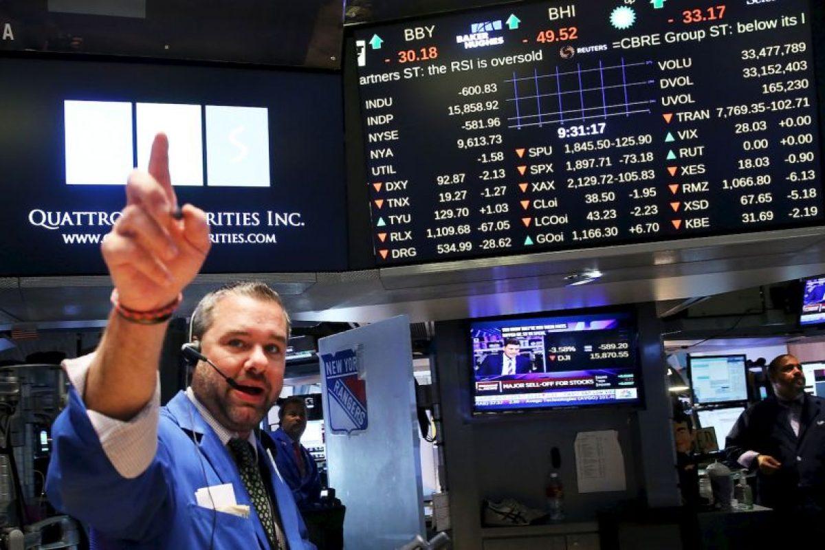 Y que afectó a los mercados de América Latina que importan productos a China. Foto:AFP