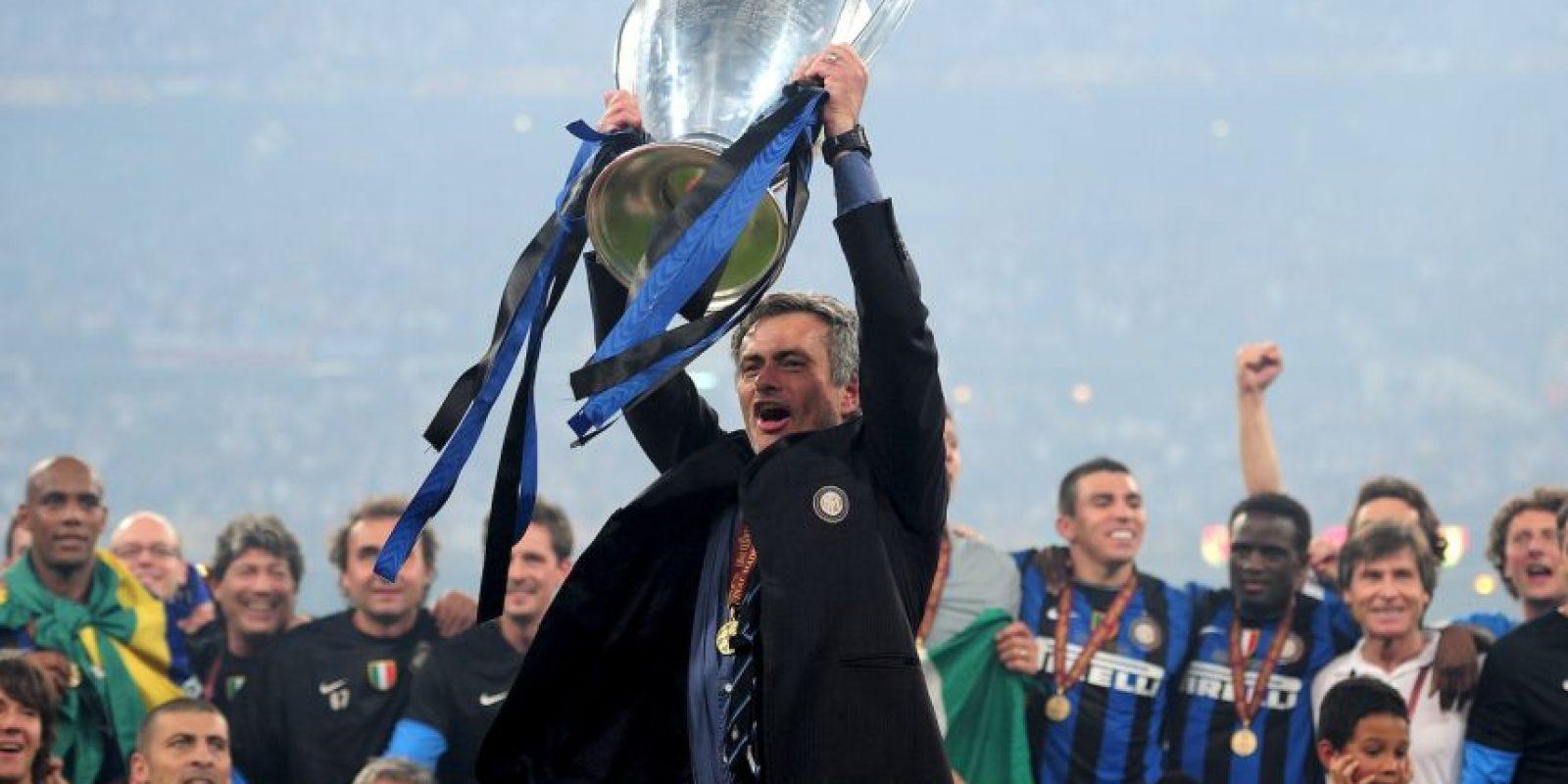 En 2010 se coronó con el Inter como campeón de la Champions League tras vencer al Bayern Munich en la final. Foto:Getty Images