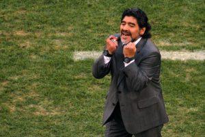 Diego Armando Maradona. El exfutbolista nació el 30 de octubre de 1960 en Lanús, Argentina. Tiene 54 años Foto:Getty Images