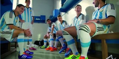 2. Selección de Argentina Foto:Vía facebook.com/FundacionLeoMessi