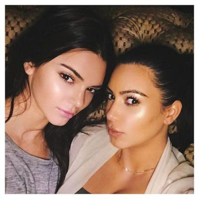 Su hermana, Kendall Jenner Foto:Instagram.com/KimKardashian