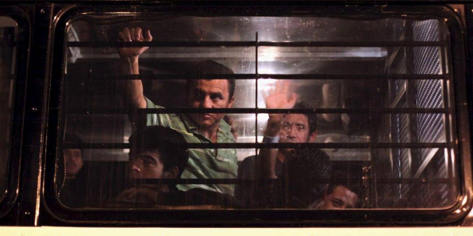 """""""Hace mucho tiempo el principal motivo era el económico, ahora es la violencia. Mucha gente es amenazada de muerte por las maras, como aquí lo hacen los grupos de la delincuencia organizada, cobrando piso"""", aseguró al periódico mexicano """"La Jornada"""" Foto:Getty Images"""