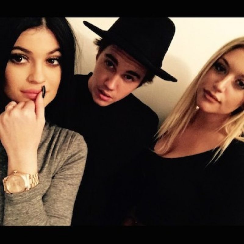 Con Kylie Jenner Foto:Instagram.com/JustinBieber