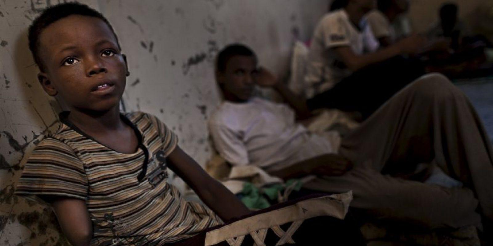 Los niños están pagando un terrible precio por este conflicto. Foto:Getty Images