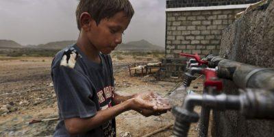 Las condiciones para los niños son muy peligrosas en este momento. Foto:Getty Images