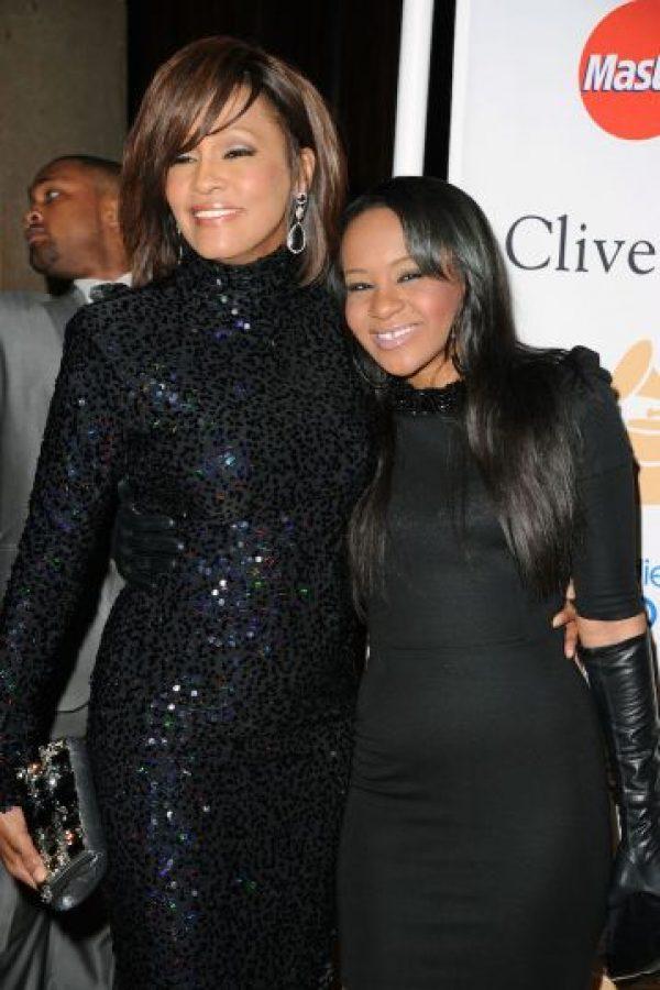Es hija de la fallecida cantante Whitney Houston y de Bobby Brown. Foto:Getty Images