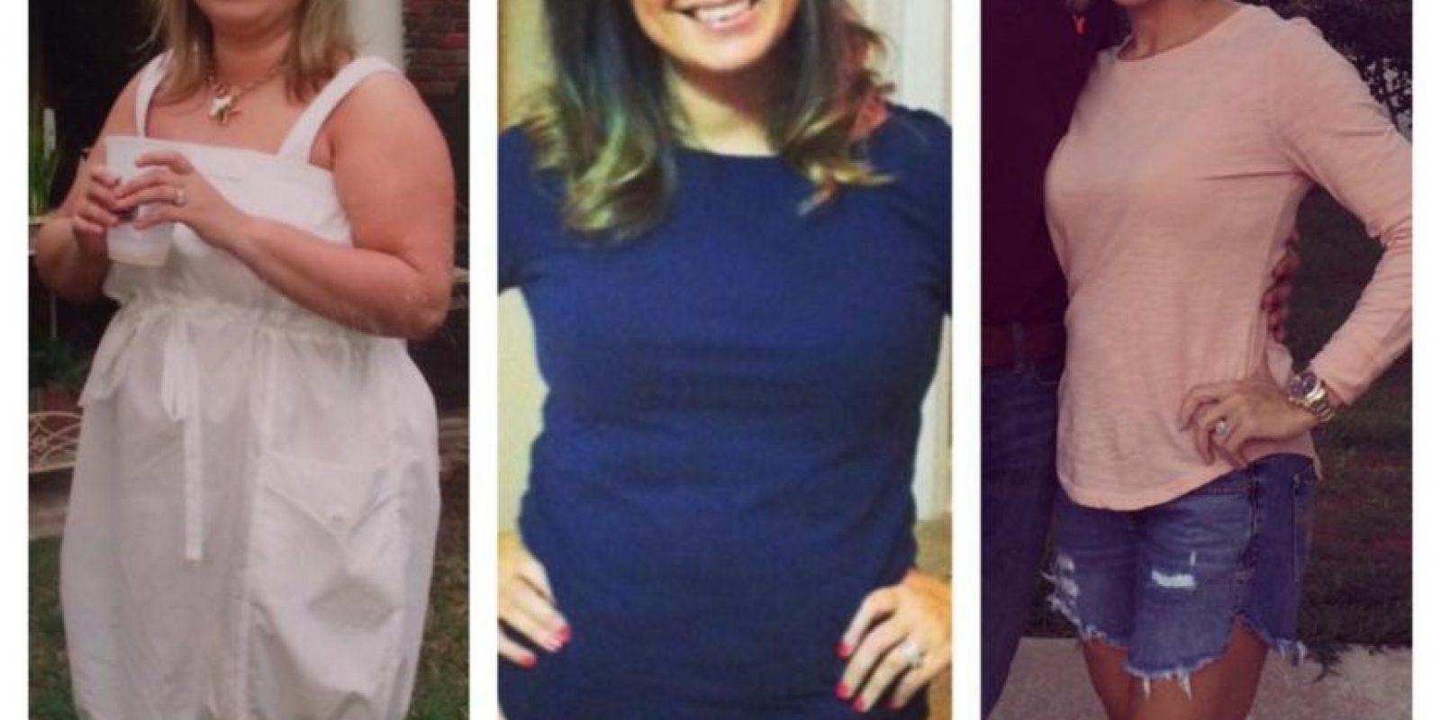 Esto pasó con Kristin Lockridge. Toda su vida se sintió miserable por ser gorda. Foto:vía Facebook/Kristin Weight Lost Journey